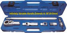 Ratchet / Flex Head / T-Bar Set wrench 6Pc set T&E tools 25555 NEW SPECIAL