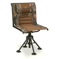360 Rotating Swivel Hunting Blind Chair Camo Foldable Portable 300 Lb Capacity