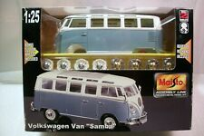New Maisto Assembly Line Volkswagen Samba Die Cast 1:25 Model Kit