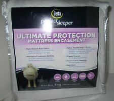 "Serta Perfect Sleeper Ultimate Protection Mattress Encasement King Size 78""x 80"""