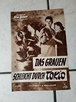 Das Grauen  schleicht durch Tokio- FilmProgramm -50-60 er Jahre- ,org.-