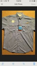 Columbia pfg Short Sleeve Omni Shade NC Logo