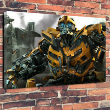 "Bumblebee Transformers Movie Printed Canvas Picture A1.30""x20"" 30mm Deep Decor"