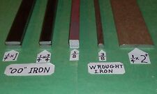 """Old WROUGHT IRON & Soft """"OO"""" IRON SAMPLER--Blacksmith-Anvil-Forge-Knife-Ax"""