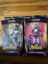 Marvel Legends lot of 2 Songbird and Proxima midnight BAF Thanos