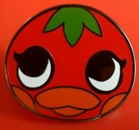 Animal Crossing Ketchup Pin Gaming Enamel Metal Brooch Badge Lapel Cosplay Nook