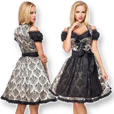 70034 Festl. Brokat Dirndl Schürze Trachtenkleid Kleid Oktoberfest Wiesn Tracht