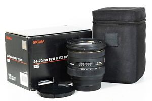 Sigma EX 24-70mm f/2.8 IF HSM DG Lens - Canon EF Fit