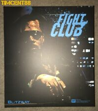 Blitzway Fight Club Tyler Durden Brad Pitt Fur Coat version New Imperfect Box