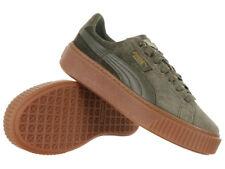 Puma Basket Platform Velvet Damen Sneaker Schuhe Turnschuhe