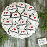 "12 Ringette 1 1/4"" PINBACK Buttons Award Party Favors USA NEW DecoWords"