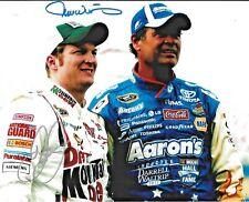 Dale Earnhardt Jr & Michael Waltrip NASCAR Dual Signed 8x10 Photo