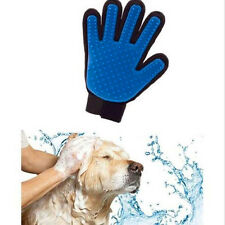 Pet fur massage glooming silicone brush comb dog bath cleaning accessories glove
