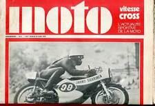 HEBDOMADAIRE MOTO VITESSE CROSS N°6. 1970.