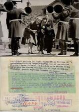 Año 1955. Olivia de Havilland. Fotografía de la artista.