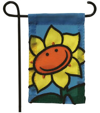 MINI GARDEN FLAG FOR FLOWER POT - SUNFLOWER - JEANE'S THINGS
