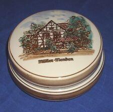 Royal Delfts 1 Dose handgemalt, Müller Menden Fachwerkhaus für Familie Telges