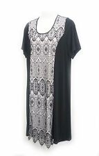 plus sz S/16-18 VIRTUELLE by TS TAKING SHAPE Rendezvous Dress chic lace NWT!