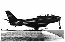Postcard 793 - Aircraft/Aviation Real Photo North American FJ-2 Fury Jetfighter