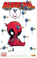 Marvel Baby Variant's alemán a partir de #1 Marvel Now Spider-Man, Avengers skottie Young
