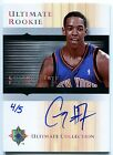 2005-06 Ultimate CHANNING FRYE Auto RC Rare Redemption Platinum Holo Foil SP #/5