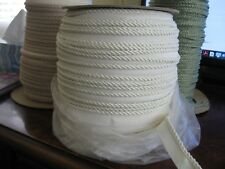"""white rope cording 3/16"""" CONSO 10 yards"""