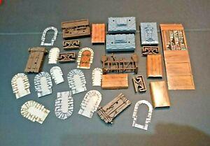 Heroquest Board Game Spare Furniture Parts Original Hero quest MB Bundle Lot 1
