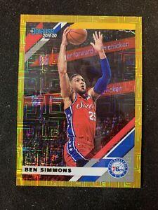 2019-20 Panini Donruss Choice Basketball Ben Simmons Gold /10 🔥📈