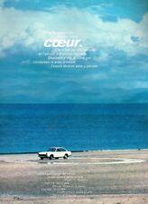 J- Publicité Advertising 1968 Fiat 124 Sport Coupé
