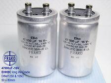 47000uF -16V FRAKO EHKBC -Series Ultra Hi-End Audio Grade Capacitor  x 2 pieces