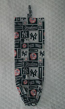 NY Yankee  Design Homemade Fabric Grocery Plastic Bag Holder