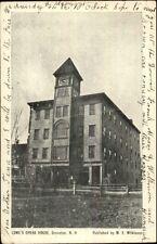 Groveton NH Lowe's Opera House c1905 Postcard