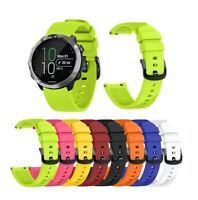 For Garmin Approach S40 Silicone Replacement Sports Band Strap Fitness Gym