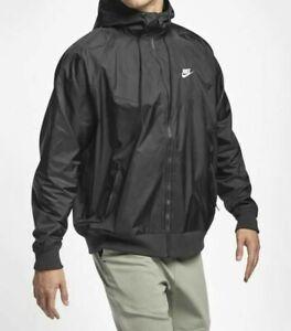 Nike Sportswear Windrunner Hooded Jacket Men's Size XL Black AT5270-010
