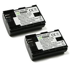Wasabi Power Battery (2-Pack) for Canon LP-E6, LP-E6N, LP-E6NH