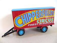 CORGI CHIPPERFIELD'S CIRCUS DRAW-BAR LORRY TRAILER & REAR TOW 1:50 97915 PERFECT