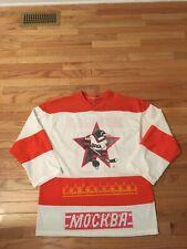 HC CSKA Moscow KHL Vintage Men's Hockey Jersey