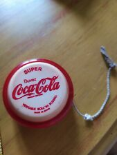 YOYO COCA COLA Roll' in Russell Rare Bord Rouge Translucide made in Spain