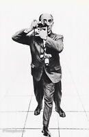 1951 Vintage ALFRED EISENSTAEDT Photographer Photo Art By PHILIPPE HALSMAN 16x20