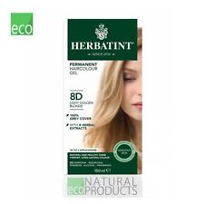 Herbatint Natural Hair Colour Light Golden Blonde 8D 150ml