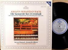 ARCHIV DIGITAL (DGG) JS Bach PINNOCK GILBERT Concertos- 2 Harpsichords 2534 002