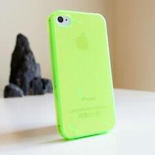 Para Apple iPhone Cristal Transparente Gel Estuche Cubierta de Silicona TPU