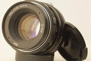 HELIOS-44M 2/58 Soviet Lens Portrait Bokeh Russian M42