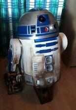 star wars painted life size r2d2 prop fiberglass 1:1