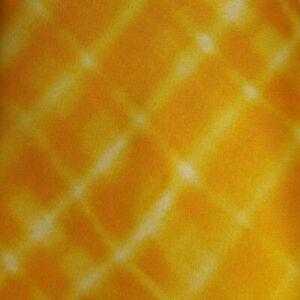 Self Tipped Orange Striped ESCADA Silk Tie