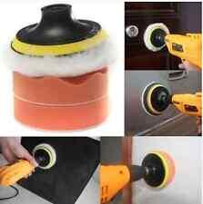 4 Inch gross Polish pulido buffer pad kit with Drill adaptador