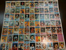 1974-75 OPC-O-Pee-Chee-Hockey UNCUT SHEET SET (3) **RARE** Don Cherry, nice!