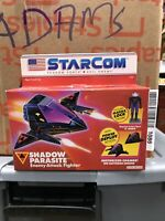 StarCom Shadow Parasite Enemy Attack Fighter - Vintage 1986 -Sealed AFA IT! MINT
