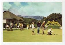 BOWLING GREEN, BRODICK: Isle of Arran postcard (C35240)