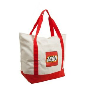 Lego CANVAS TOTE #DP0900 LBRC Store Promo Large Bag Brand New ~ Sealed